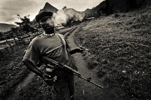APCLS Mai Mai rebel in eastern Congo.