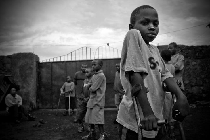 Polio house, Goma.