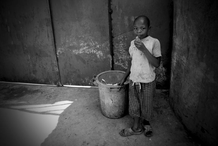 Street boy in Goma.