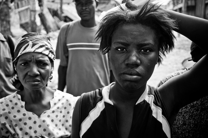 The citizens of Port au Prince lost their families, homes and possessions.