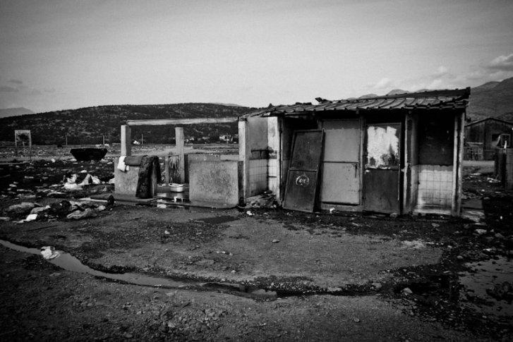 Water and sanitation facilities in Konic Camp, Podgorica Montenegro